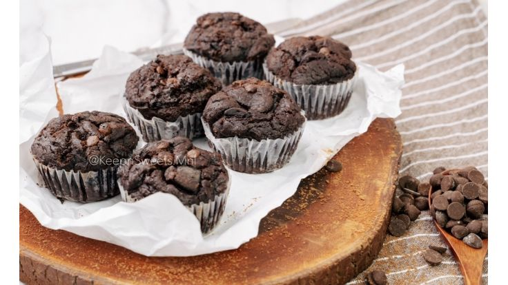Double Chocolate Muffin image