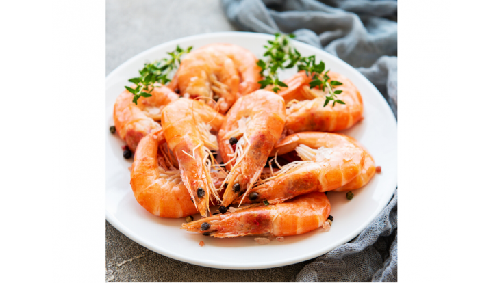 Garlic Buttered Prawns 8-10 (Party Size) image